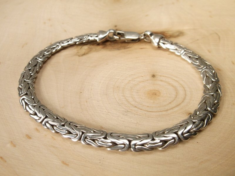 Gorgeous Heavy Sterling Silver Bracelet