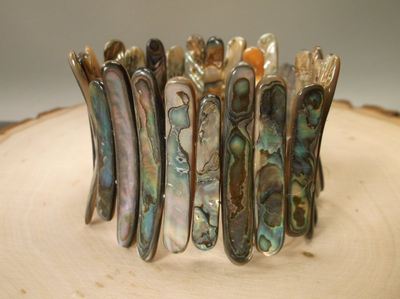 Gorgeous Huge Genuine Abalone Bracelet