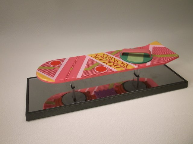 Back To The Future Hover Board Display 6""