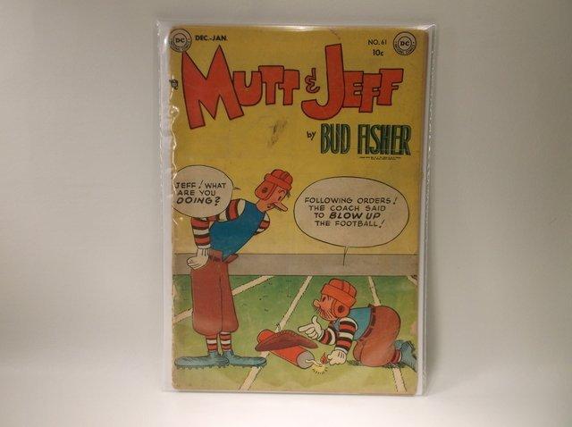 1952 DC Mutt & Jeff Comic Book #61 $110