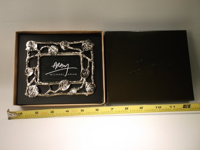 Gorgeous Michael Aram Picture Frame In Box