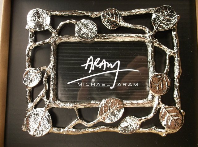 Gorgeous Michael Aram Picture Frame In Box - 2