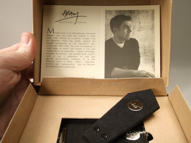 Gorgeous Michael Aram Picture Frame In Box - 3