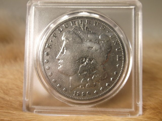 1889 O US Silver Morgan Dollar