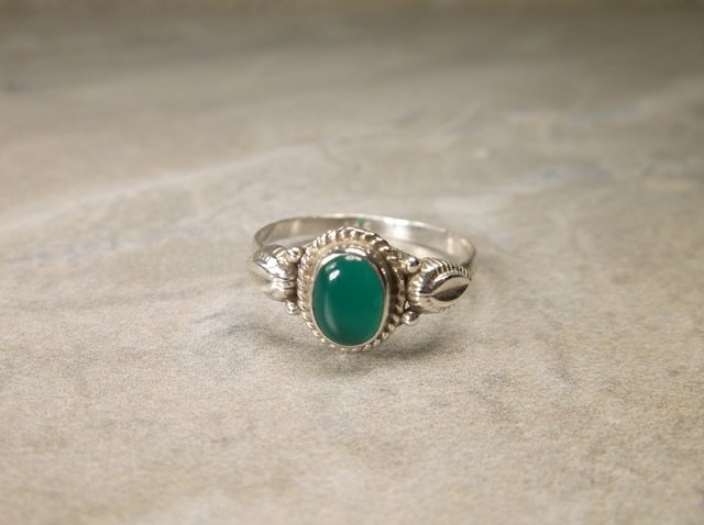 Gorgeous Sterling Silver Southwest Ring 7