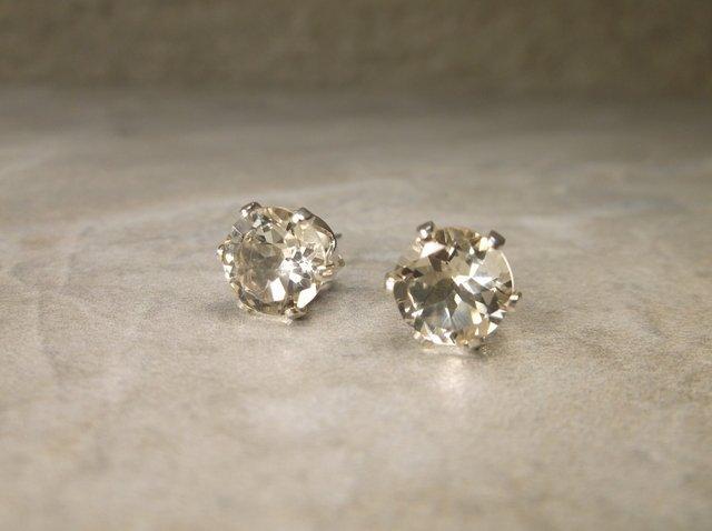 Gorgeous Sterling 2.5ct Genuine Topaz Earrings