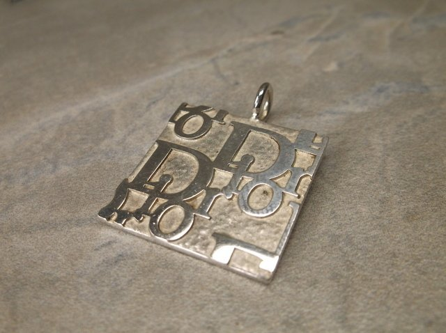 Gorgeous Sterling Christian Dior Pendant