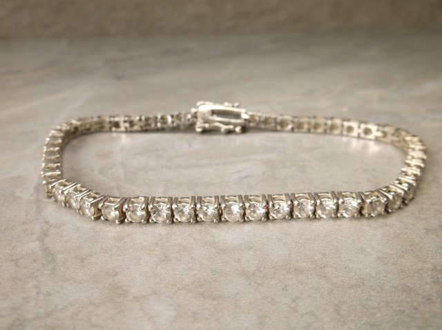 Gorgeous Sterling Silver Bracelet Heavy