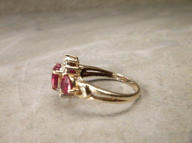 Stunning 10kt Gold Gen 2ct Ruby Ring 7 - 3