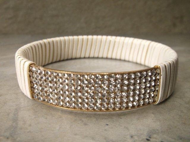 Gorgeous Rhinestone Bangle Bracelet