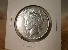 1928 S US Silver Peace Dollar