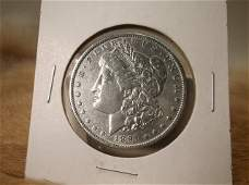1891 US Silver Morgan Dollar