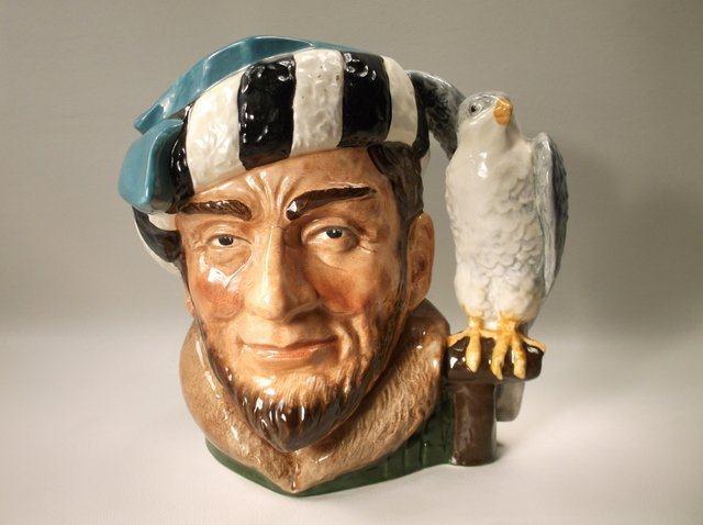 Perfect Royal Doulton The Falconer Toby Pitcher