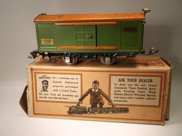 Antique Pre-War Lionel O Gauge Train In Box 805