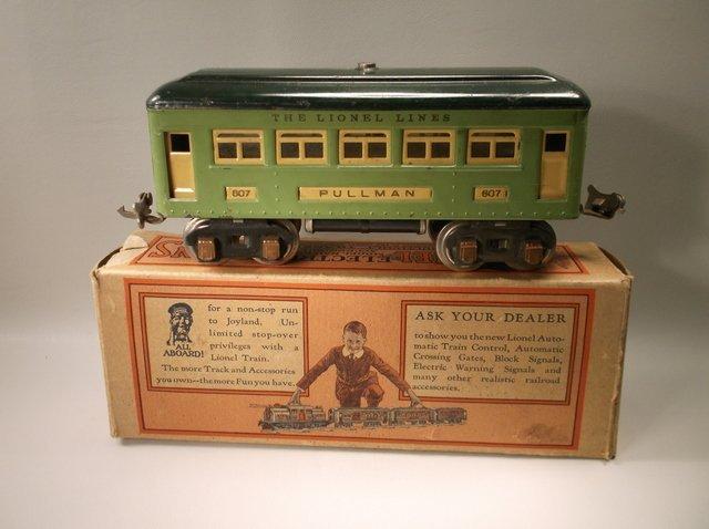 Antique Pre-War Lionel O Gauge Train In Box 607