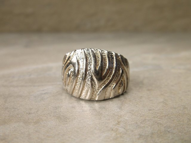 Gorgeous Sterling Silver Design Ring 7