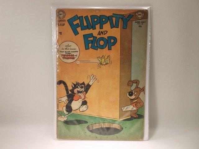 1952 DC Flippity Flop Comic Book #10 $125