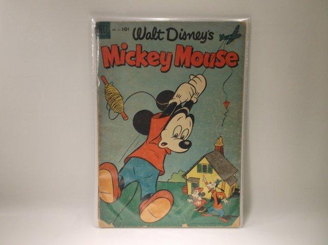 1953 Disney Mickey Mouse Comic #31 $105