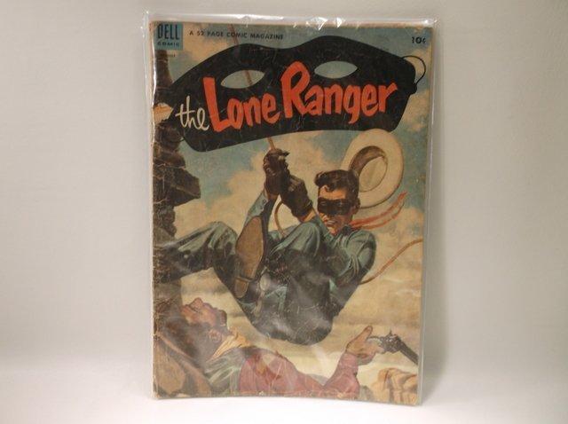 1953 Lone Ranger Comic Book #62 $115