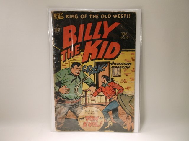 1953 Billy The Kid Comic Book #15 $65