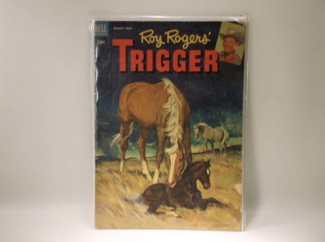 1953 Roy Rogers Trigger Comic Book #8 $75