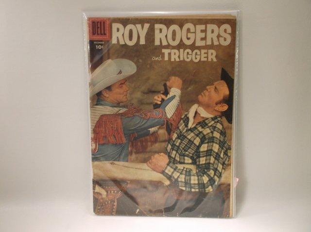 1955 Roy Rogers Comic Book #96 $80