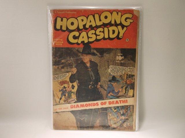 1952 Hopalong Cassidy Comic Book #73 $65