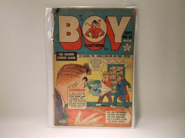 1952 Boy Comic Book #81 $120
