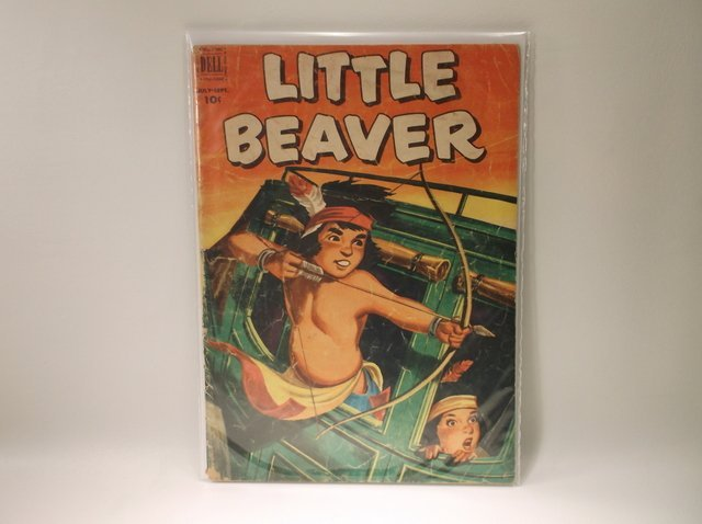 1952 Little Beaver Comic Book #6 $70