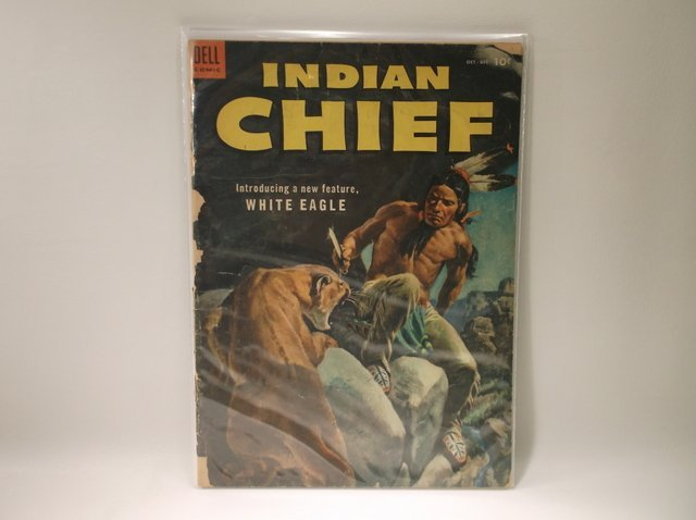 1953 Indian Chief Comic Book #12 $75