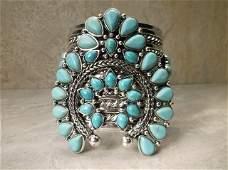 Stunning Huge Southwestern Cuff Bracelet