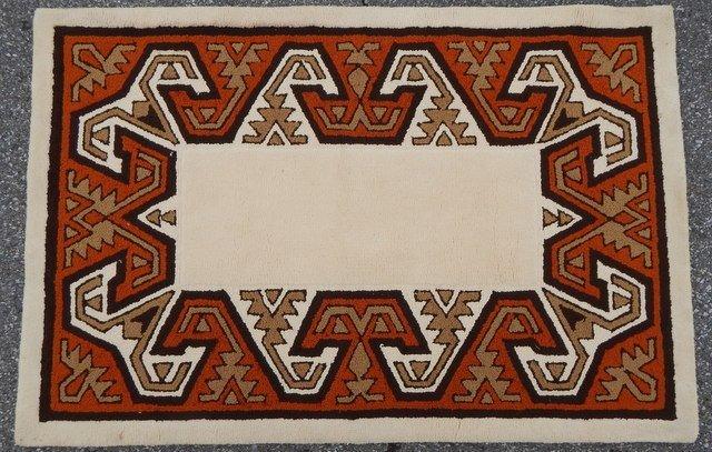 Edward Fields 100% Virgin Wool Rug 4 x 6 09762