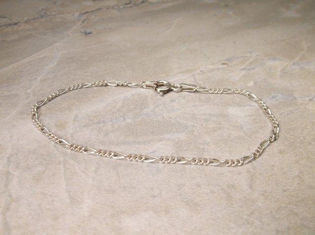 Gorgeous Sterling Silver Chain Bracelet
