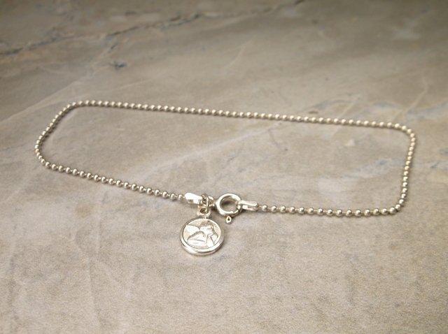 Gorgeous Sterling Silver Angel Bracelet