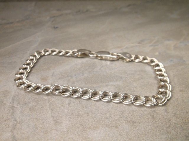 Gorgeous Sterling Silver Chain Bracelet