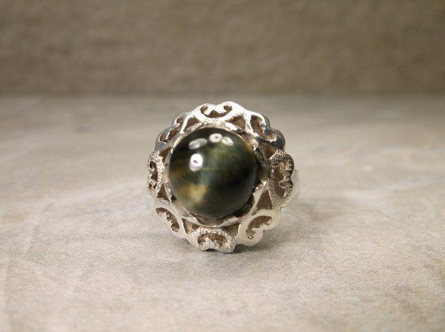 Gorgeous Sterling Silver Labradorite Ring 8