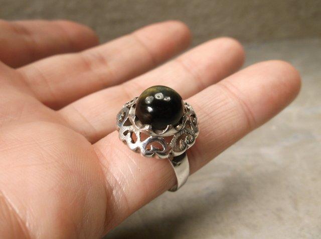 Gorgeous Sterling Silver Labradorite Ring 8 - 2
