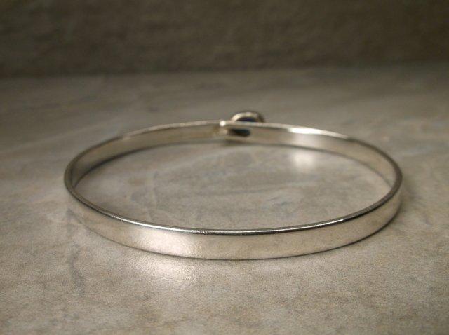 Gorgeous Sterling Fire Opal Bracelet MF Navajo? - 2