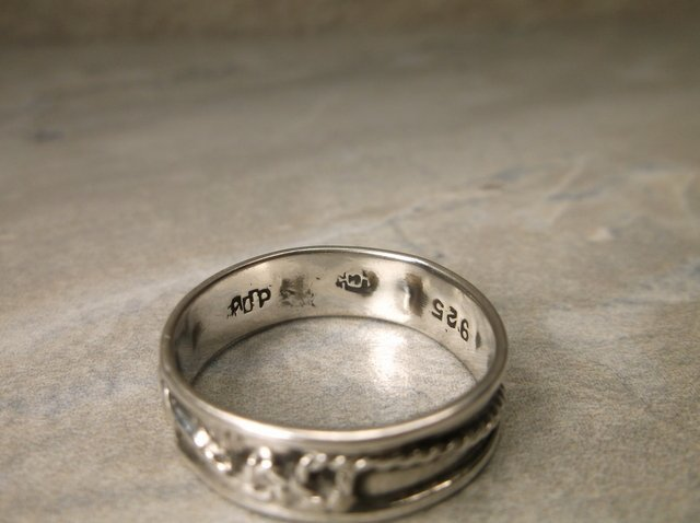 Beautiful Vintage Taxco Sterling Ring 9 ADP - 2