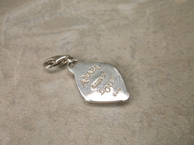 Gorg Sterling Anael Angle of Love Charm - 2
