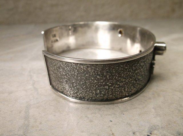Stunning Mcordor Sterling Peridot Cuff Bracelet - 3