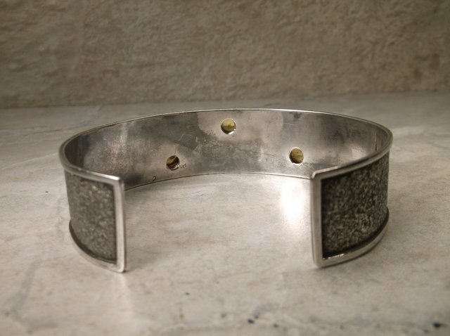 Stunning Mcordor Sterling Peridot Cuff Bracelet - 5