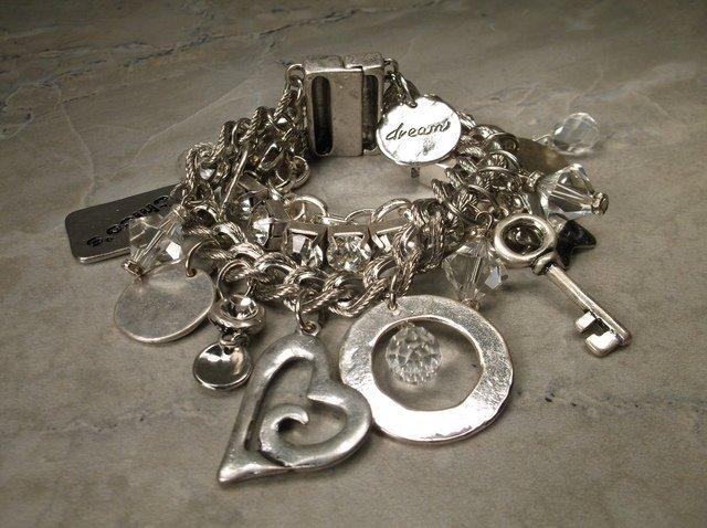 Gorgeous Chicos Triple Charm Bracelet