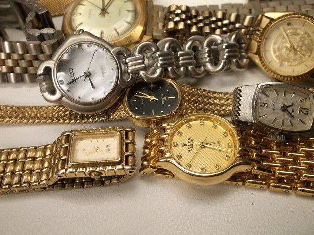 Huge Wristwatch Lot Gruen Citizen Seiko More - 2
