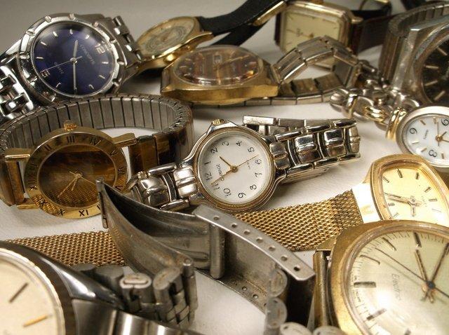 Huge Wristwatch Lot Gruen Citizen Seiko More - 4