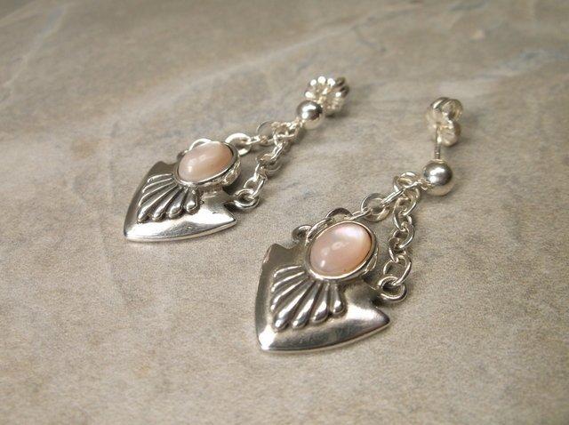 Stunning Carolyn Pollack Sterling Earrings