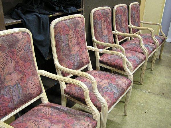 1960: Blondewood armchairs, twelve
