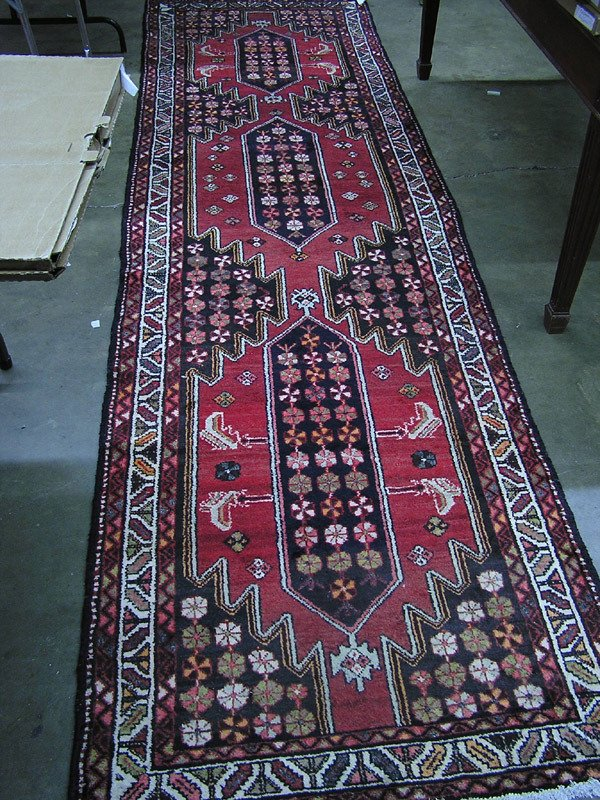1964: Persian Maslaghan runner rug