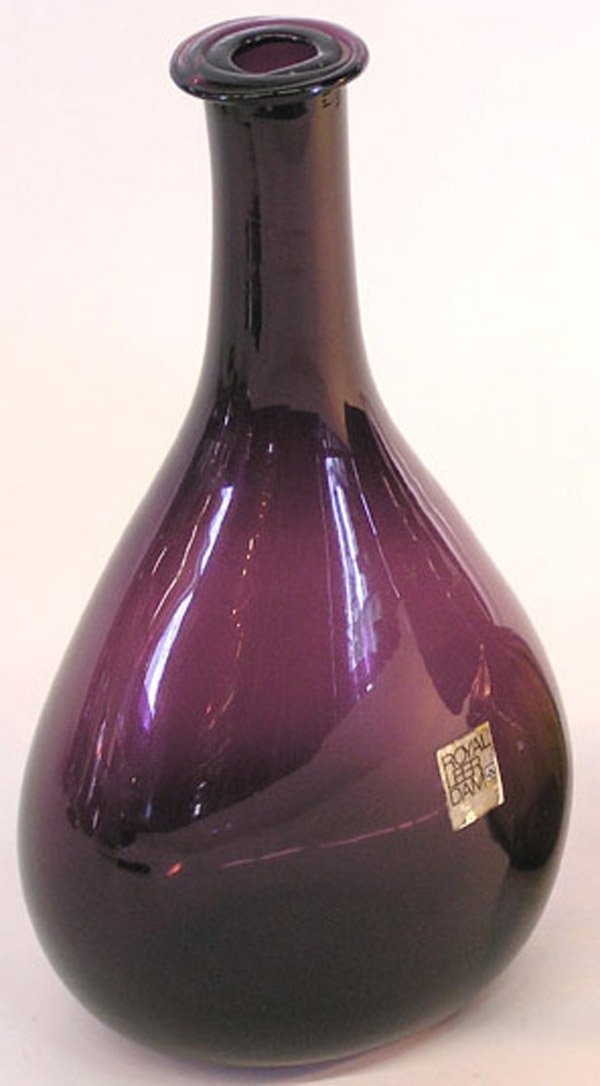 10: 2 hand blown bottles