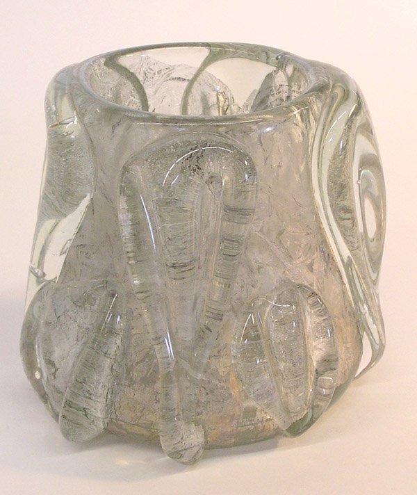 19: Mid-Century Studio Glass vase